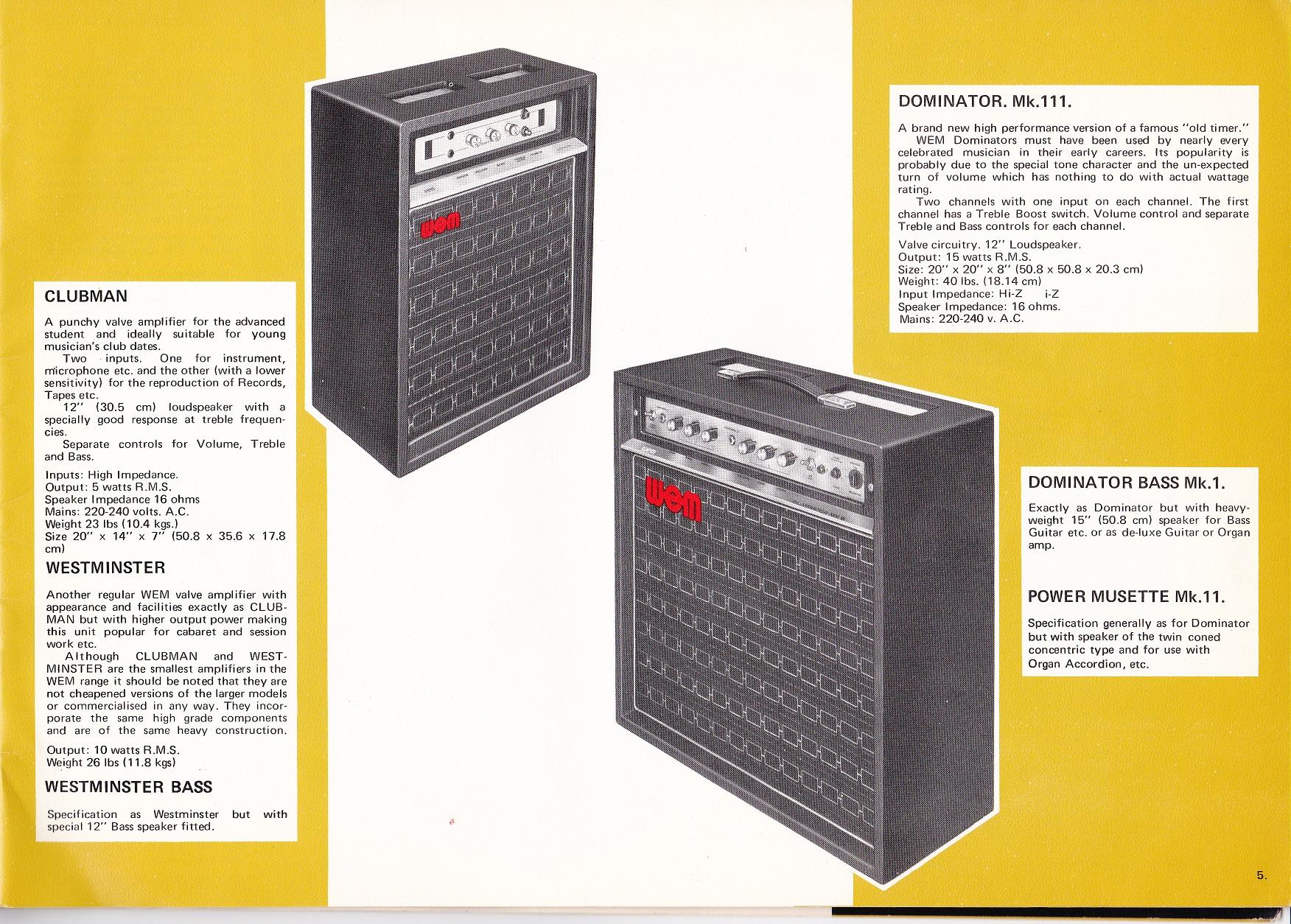 1974 Black White Cover Catalogue