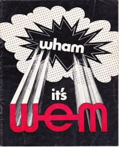 Wham It's WEM 3-1