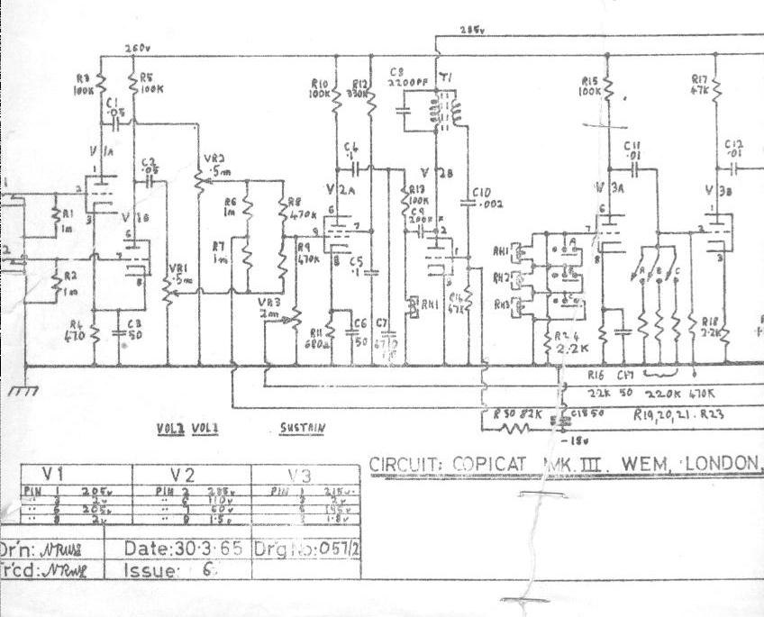 copicatmk3a copicat schematics wem owners club mk echo wiring diagram at couponss.co