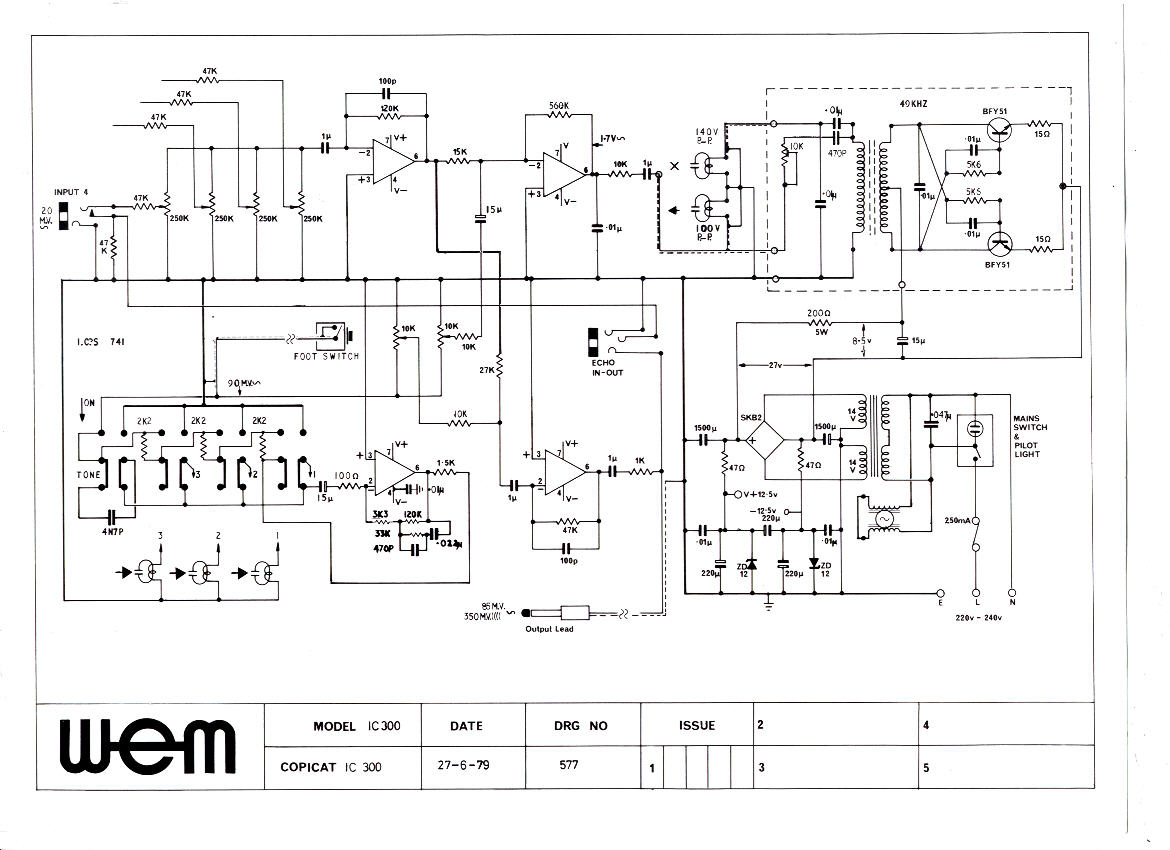 ic300 copicat schematics wem owners club mk echo wiring diagram at couponss.co