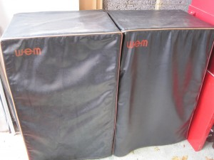 smaller 2x12s covered