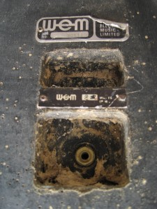Early cab socket and logo