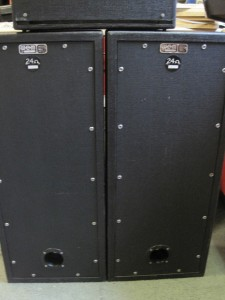 3x10 speakers back