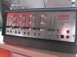 Bandmixer stereo