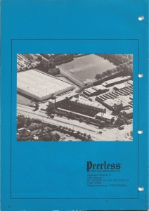 Peerless Catalogue 1973-1974
