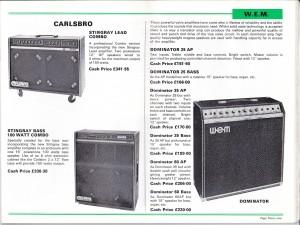 Bell cat 1980 1981 WEM 1