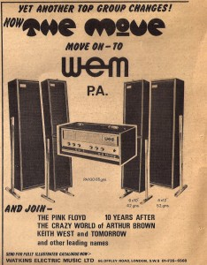WEM ad 1968