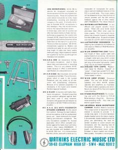 WEM 1960s 1-6
