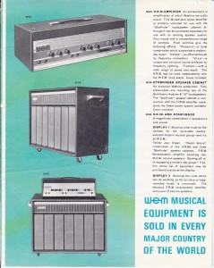 WEM 1960s 2-3