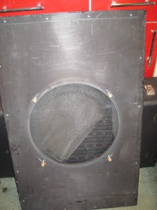 8-front baffle rear